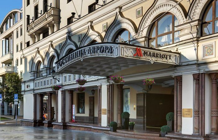 Реновация Marriott Royal Aurora Moscow Hotel 5*